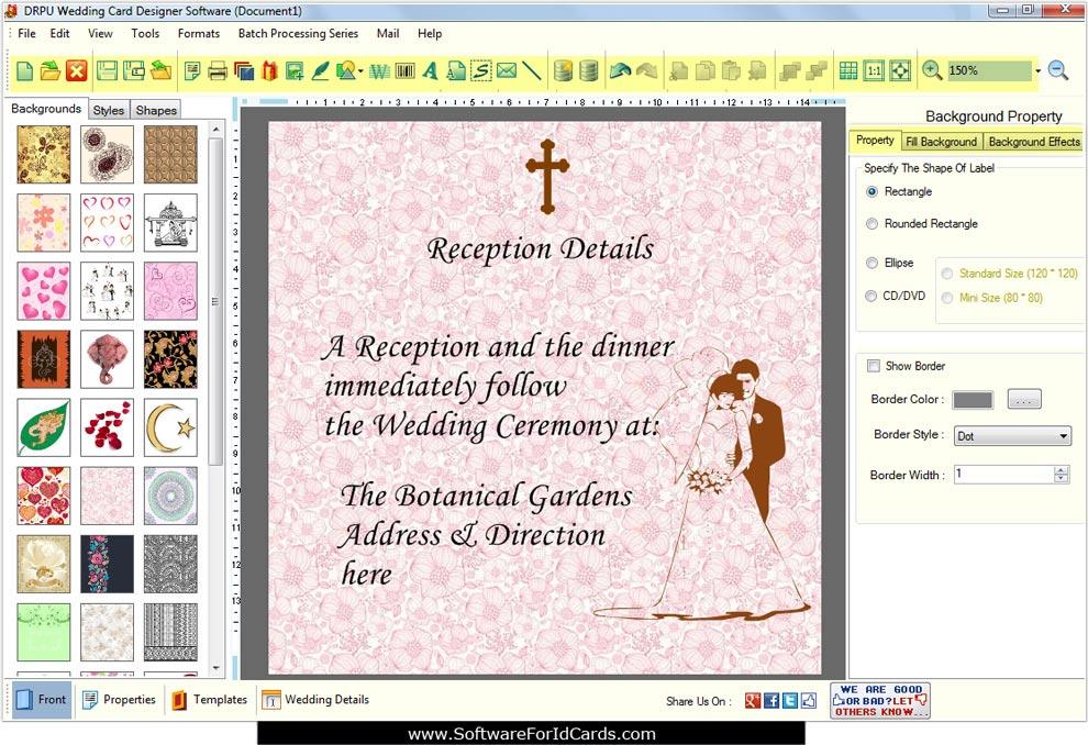 Wedding Cards Designing Software Make Invitation Marriage Cards